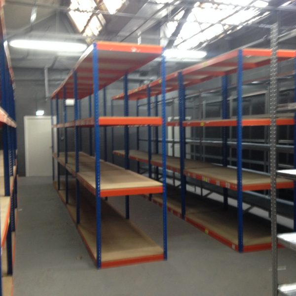 Wide range of industrial shelving with hundreds of different sizes, colours and manufacturers UK wide delivery and installation