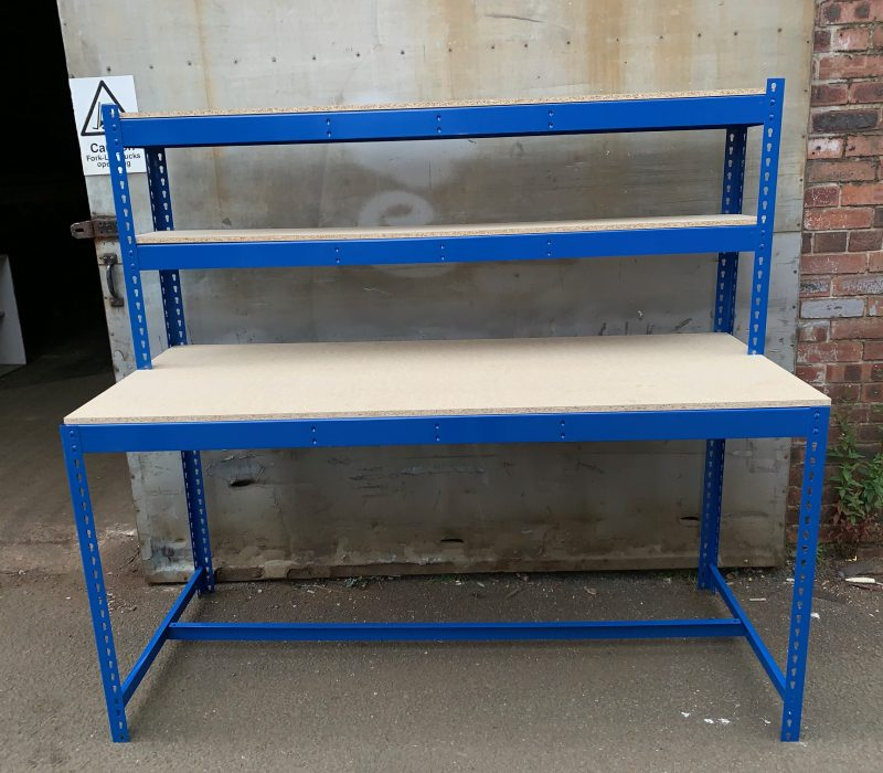 Wide variety of benches and work stations in all different colours and sizes. We can also custom make you any work station to suit your needs