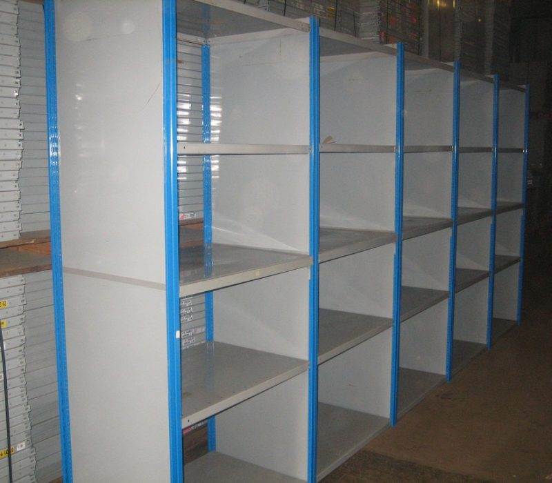 closed clad uprights